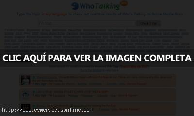 whotalking 400x240 WhoTalking, buscador en las redes sociales